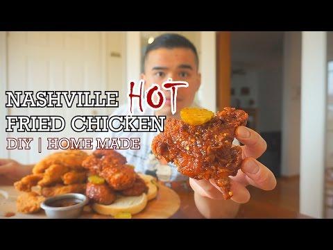 NASHVILLE  HOT CHICKEN | DIY HOMEMADE | QT