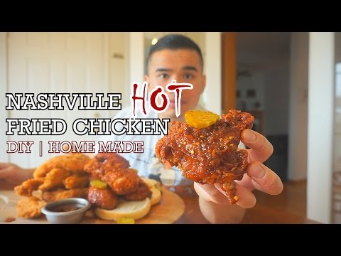 NASHVILLE HOT CHICKEN | DIY HOMEMADE | QT