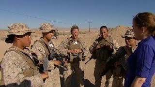 Marine Corps experiment tests women for combat duty