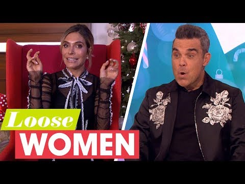 Ayda Gets Her Revenge on Robbie Williams for Flipping Her on The Graham Norton   Loose Women