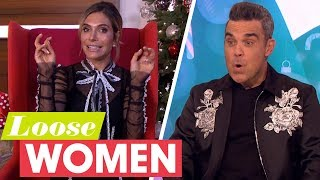 Ayda Gets Her Revenge on Robbie Williams for Flipping Her on The Graham Norton Show | Loose Women