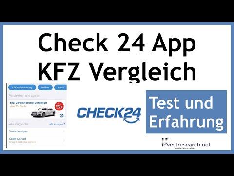 Check 24 - KFZ Versicherung Vergleich über Mobile App - So Gehts In 5 Min