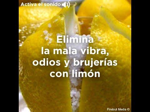 Di adiós a la mala vibra, los odios y las brujerías con limón