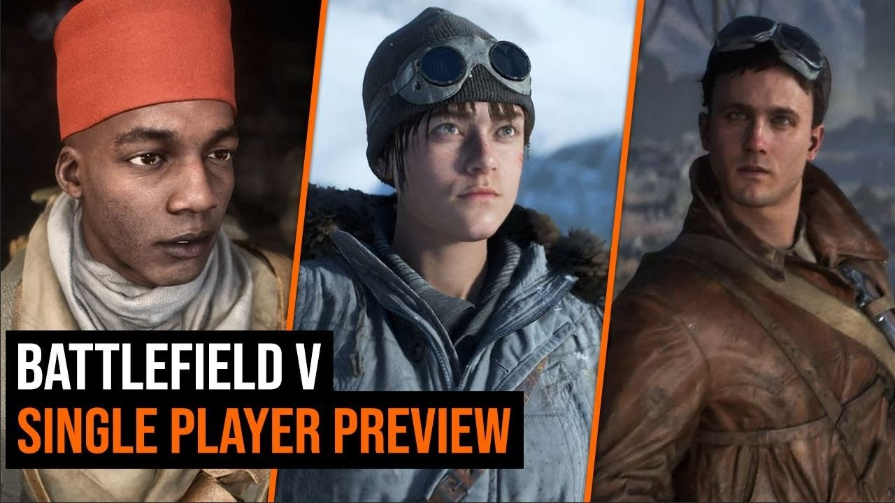 Battlefield V Single Player Preview