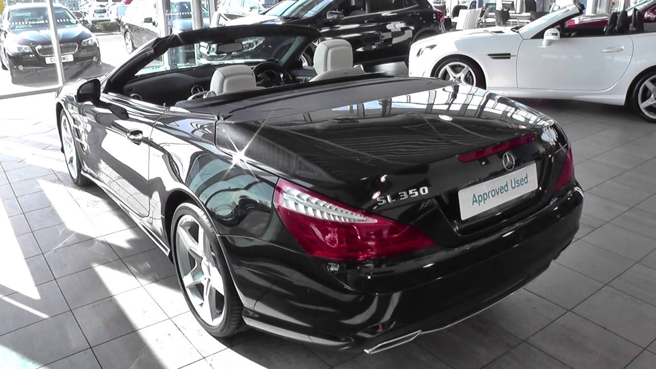 mercedes benz sl class sl 350 amg sport 2dr auto u25161 youtube. Black Bedroom Furniture Sets. Home Design Ideas