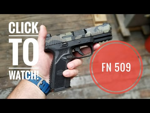 FN 509  Impressions after 1500 Rounds