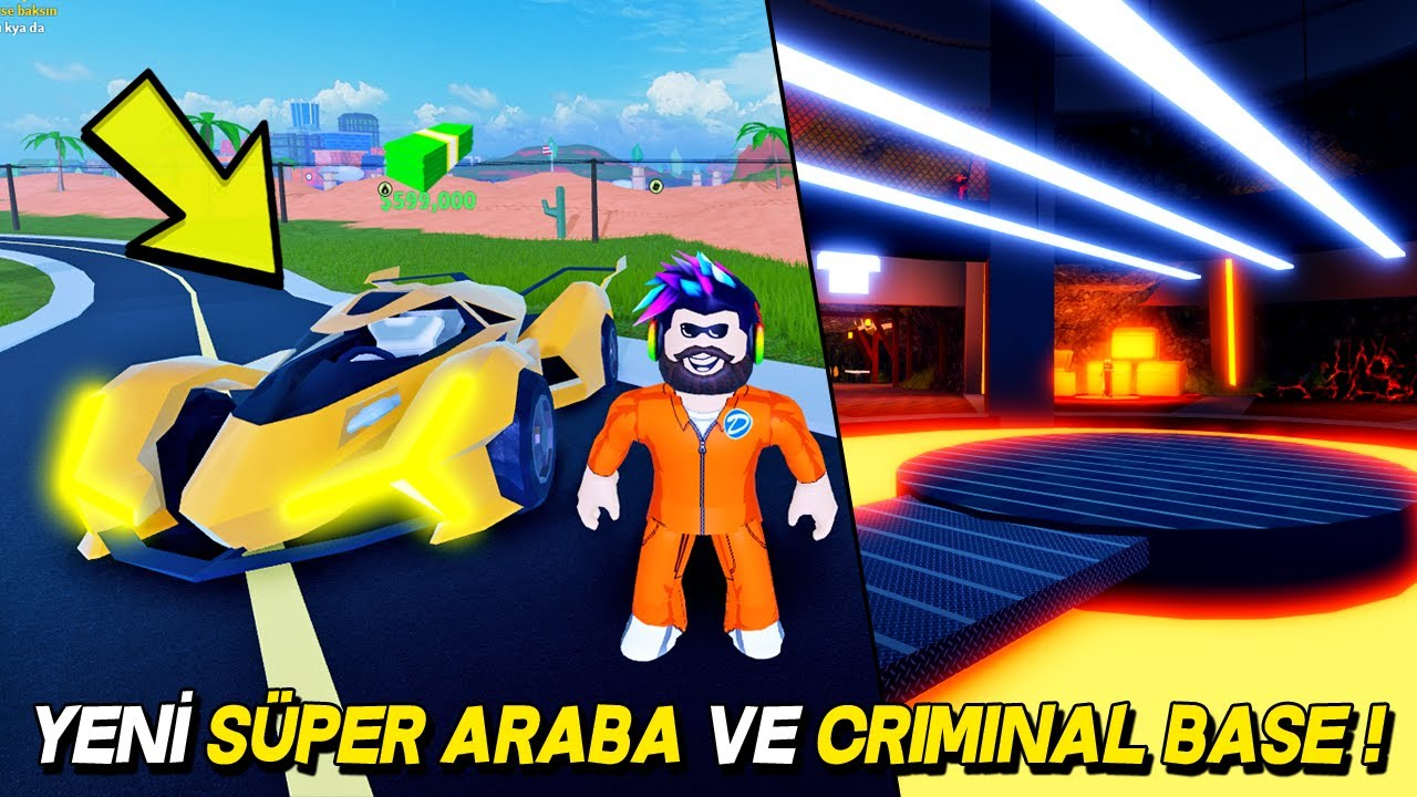 A Tour of the Level 4 Cop and Criminal Bases! - Roblox Jailbreak
