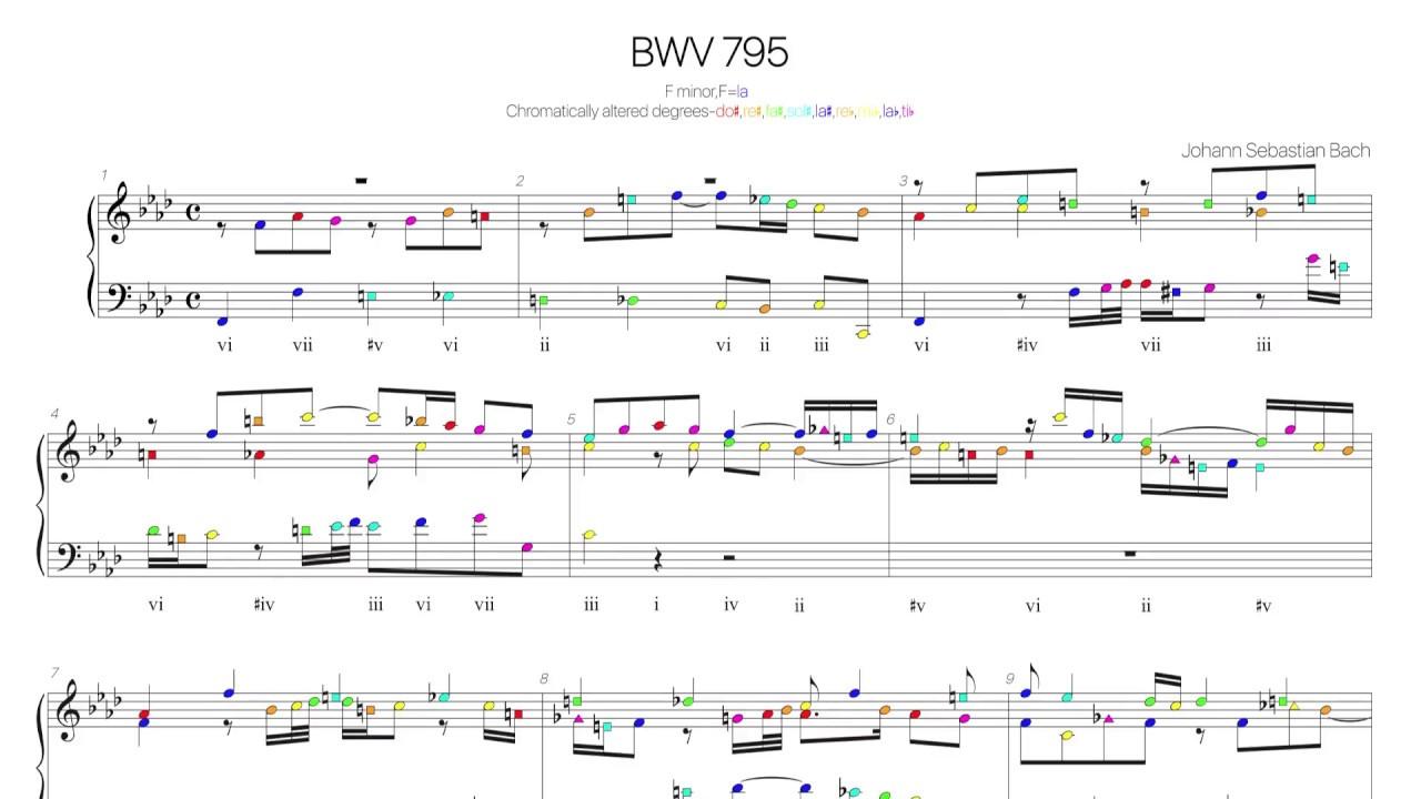 Composizioni di Johann Sebastian Bach