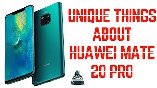 The unique things that makes the huawei mate 20 pro so special |Techie Dude