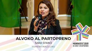 """#mondafest2020 Festivala Temo: """"UN 75-jara"""" – Mesaĝo de UEA: alvoko al partopreno – Sara Spanò"""
