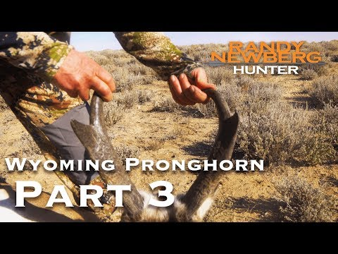 2018 Wyoming Pronghorn with Marcus and Brian Hockett (Part 3)