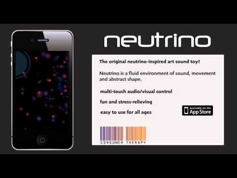 Neutrino App Video Demo for iPhone and Ipad by Consumer Therapy