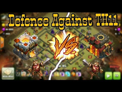 How to defend against max Th11 troops Vs Th10... Best defense ever by th10.!!