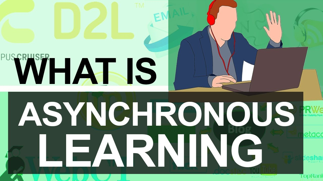 What Is Asynchronous Learning Communication Tools Advantages Disadvantages E Learning Youtube