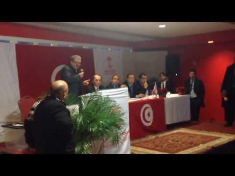 Discours pour l'union sacrée de Mr Hédi Jilani, le programme de la coordination