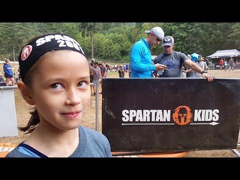 Gymnast Kiwi Tries The Spartan Race!