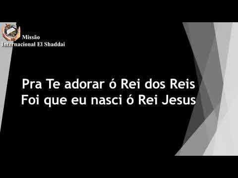 EM ESPIRITO, EM VERDADE (playback legendado)