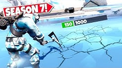 *NEW* BREAKING THROUGH SECRET *ICE BLOCKS* IN FORTNITE SEASON 7! LOCATION UPDATE!: BR