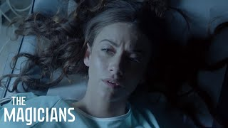 THE MAGICIANS | Season 2, Episode 5: 'Little Rebel' | Syfy(Julia aims to get rid of Reynard's baby inside her, but that fetus has other plans. Also: ALICE IS BACK… Or Quentin is going crazy… probably one of those., 2017-02-27T23:00:04.000Z)
