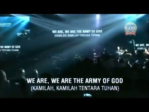 ARMY OF GOD • Live At Christmas