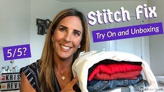 Stitch Fix Subscription | August 2018| Unboxing & Try on 💜5/5?
