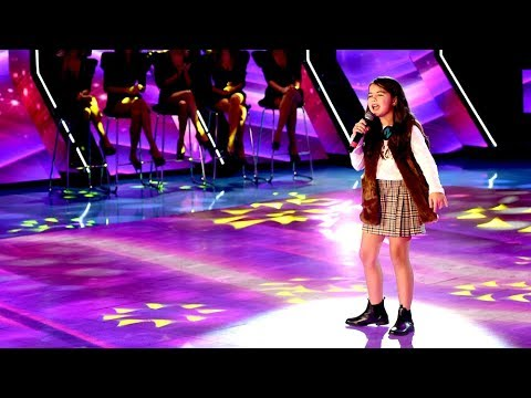 Agustina Espina conquistó con una voz de adulta en un cuerpo de niña