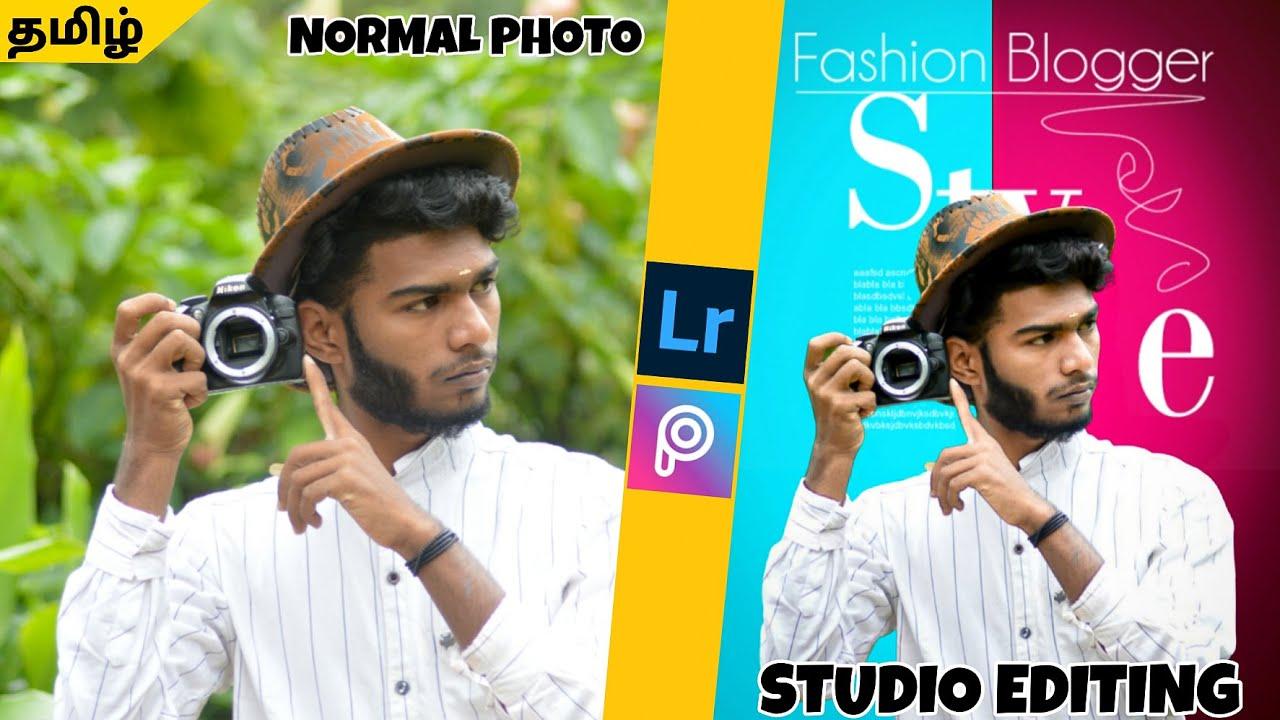 Normal photo to studio photo editing   editing wala   photography tamizha editing #picsart_editing
