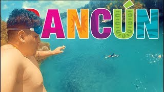 Cancun Vlog Day 3: I Jumped Off A Cliff!