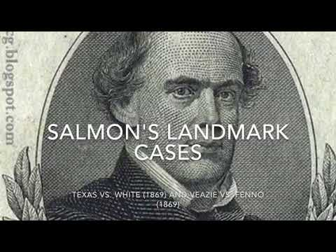 New York Times vs. United States---Salmon Chase
