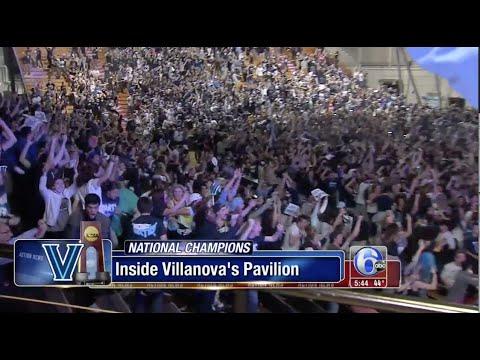 Villanova Homecoming after Winning the Championship - WPVI 6ABC Philadelphia Coverage