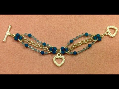 Sparkling Charm Bracelet Tutorial