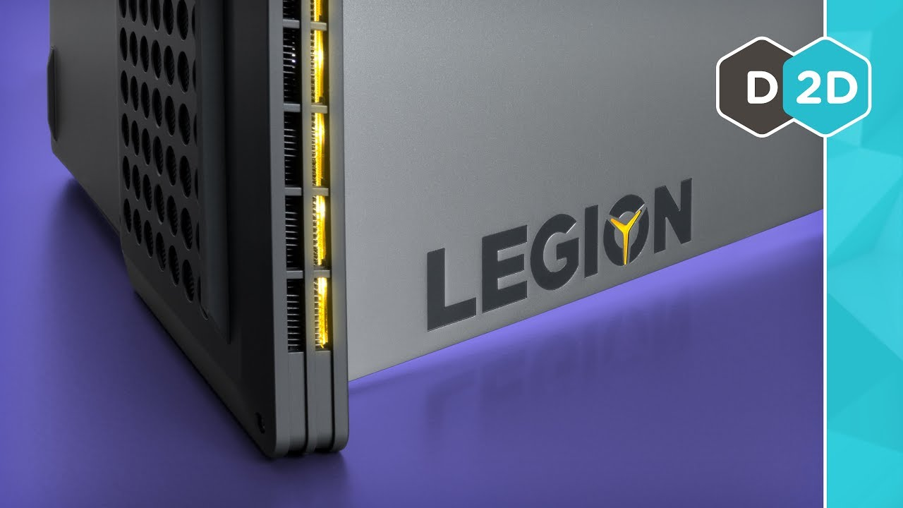 Legion Y740 Gaming Laptop Review
