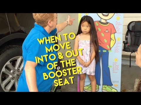 Booster Seats: When to Move Into & Out of the booster seat