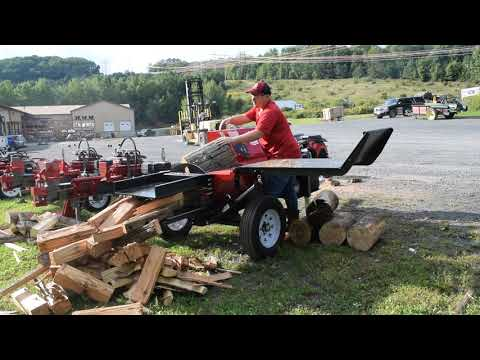 Extreme Wood Splitter Box Wedge Forestry Machine
