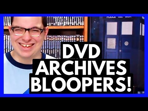 The Wacky, Wierd, & Wonderful Bloopers from the DVD Archives!