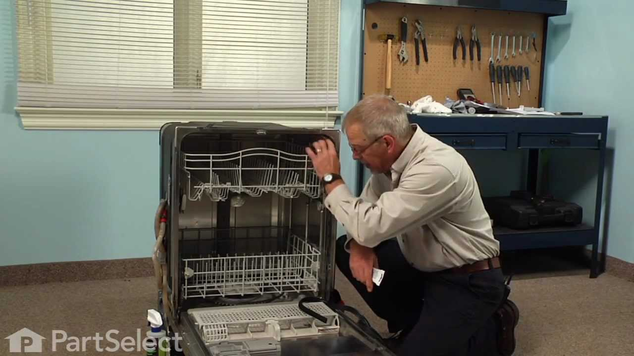 Kitchen Aide Dishwasher Home Depot Canada Island Repair - Replacing The Door Seal (whirlpool ...