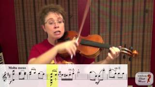 Violin Lesson - How to play Monti