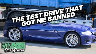 This test drive stunt got me banned from BMW for life