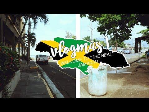 VLOGMAS 1   WELCOME TO JAMAICA GUYS!