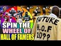 SPIN THE WHEEL OF HALL OF FAMERS! Madden 19 Ultimate Team Squad Builder