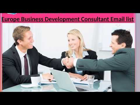 Europe Business Development Consultant Email list