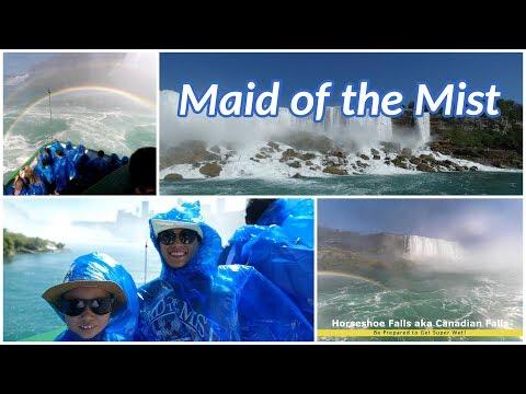 Niagara Falls Maid Of The Mist Boat Ride (4K)