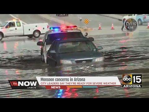 Monsoon concerns in Arizona