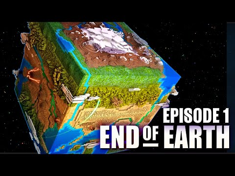 End of Earth | Minecraft Modded Survival: Ep 1 | We Destroyed The WORLD!! (Steve's Galaxy Modpack)