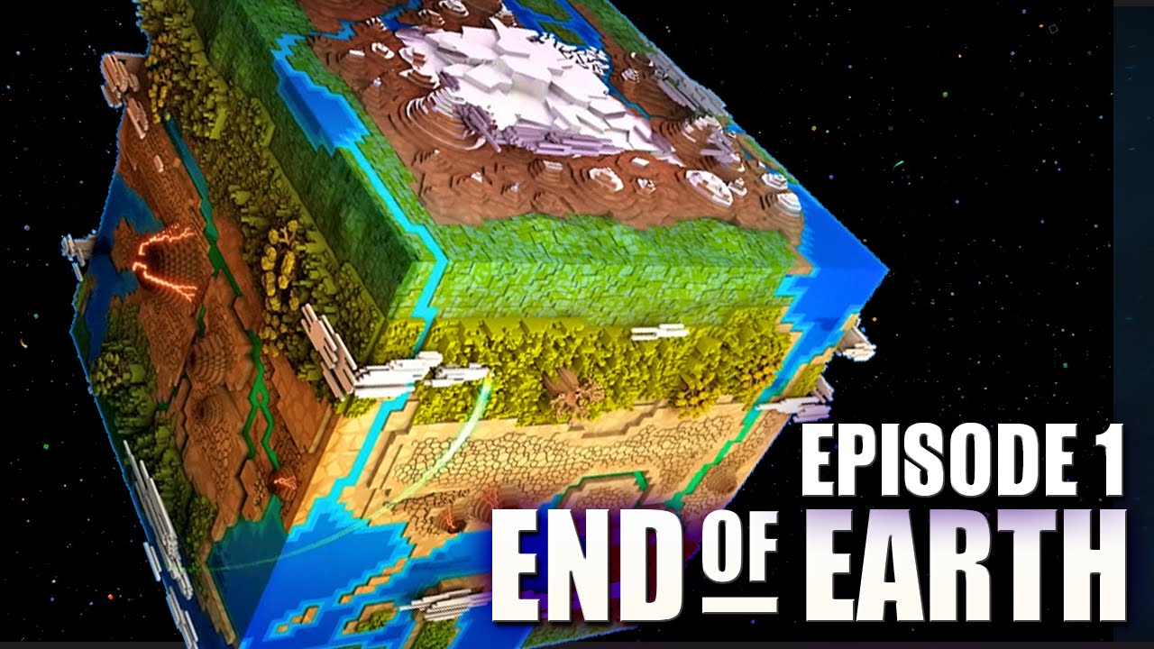End of Earth  Minecraft Modded Survival Ep 1  We Destroyed The