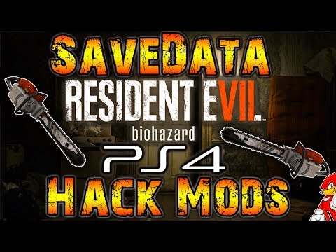 Hack Resident Evil 7 Godmode - Invencible PS4 Savedata Download (NO JAILBREAK) - By ReCoB