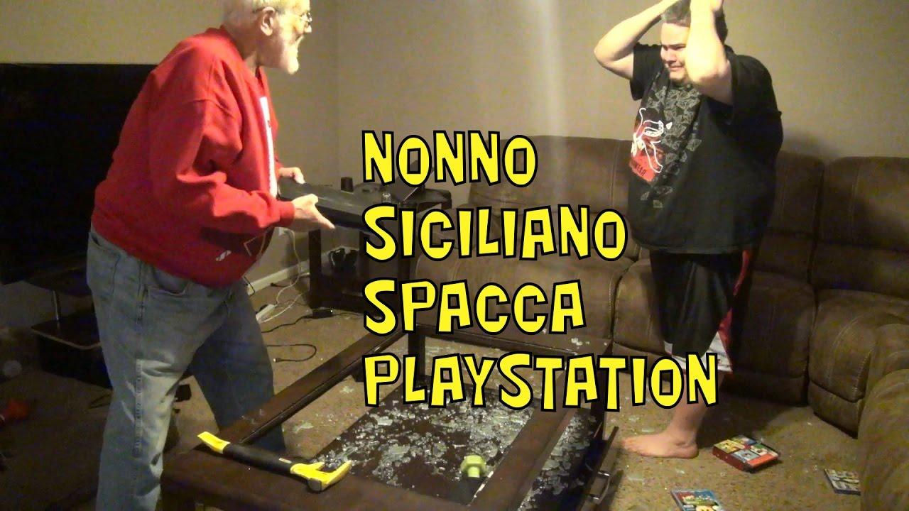 Nonno siciliano spacca playstation youtube - Nonno spacca letto ...