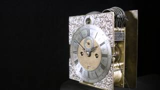Henry Massy Table Clock 1695 - Ben Wright Exceptional Clocks