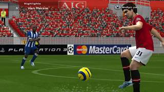 Pro Evolution Soccer 6 - ShollyM 2014 Patch Gameplay (PC)