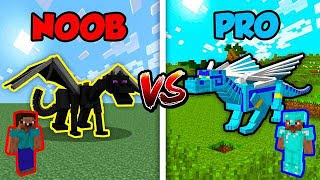 Minecraft NOOB vs. PRO: DIAMOND DRAGON in Minecraft!